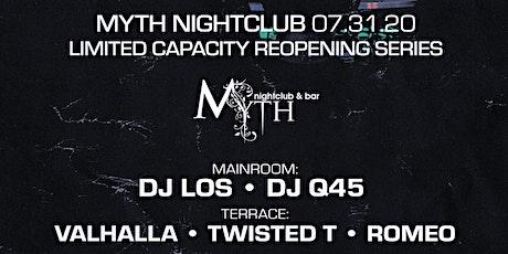 Outlet Fridays at Myth Nightclub | Friday 07.31.20 tickets