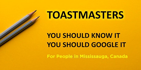 Toastmasters for Mississauga, Canada tickets