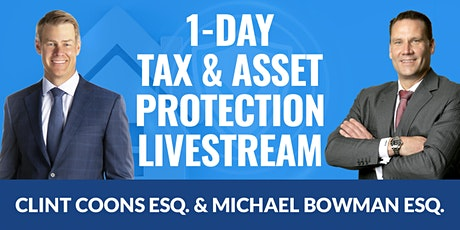 Tax and Asset Protection 07.18.2020 tickets
