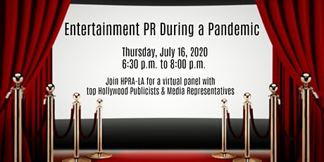 Entertainment PR During a Pandemic tickets