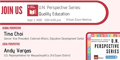 U.N. Perspective Series: Quality Education tickets
