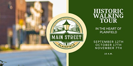 Main Street Plainfield Historic Walking Tour tickets
