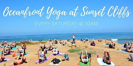 Oceanfront Yoga at Sunset Cliffs (Donation-based) tickets