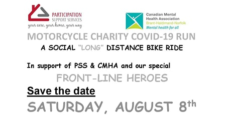 Motorcycle Charity COVID-19 RUN tickets