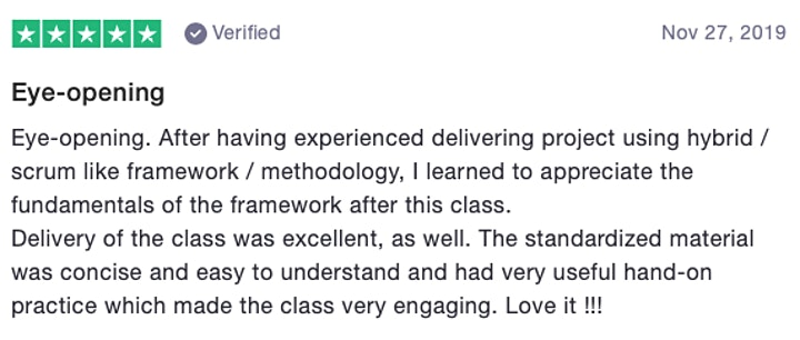 Professional Scrum Master (PSM) with Matt Dominici - Online Virtual Class!! image