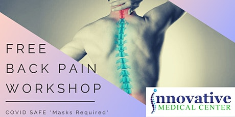 FREE Chronic Back Pain Relief Workshop (Covid-19 Safe) - Fresno, CA tickets