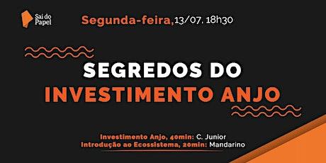 Segredos do Investimento Anjo ingressos