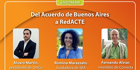 Del Acuerdo de Buenos Aires a RedACTE entradas