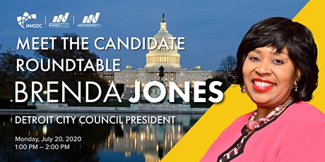 MMSDC Meet the Candidate - Detroit City Council President Brenda Jones tickets