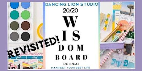 Wisdom Board Retreat Revisited - Online or In-Studio tickets