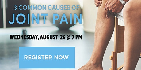 3 Common Causes of Joint Pain (In-Office Health Lecture) tickets