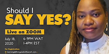 Should I say Yes? tickets