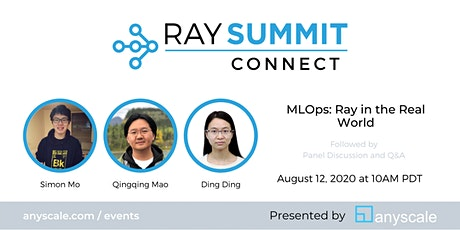MLOps: Ray in the Real World tickets