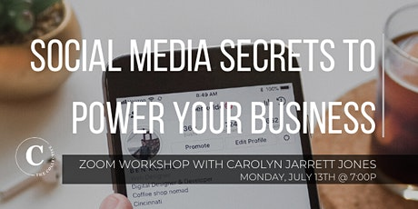 Social Media Secrets to Power Your Business tickets