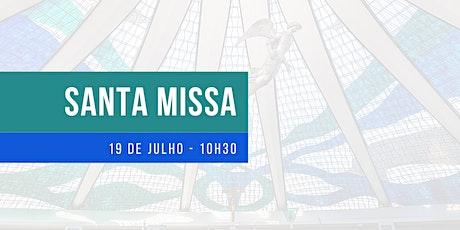 Missa 19/7/2020 - Domingo - 10h30 - Catedral ingressos