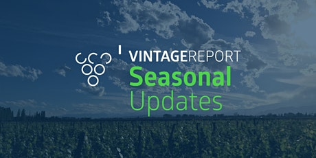 Seasonal Updates Webinar III: Pre-Harvest Update tickets