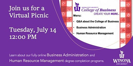 Virtual Picnic: Online Degree Completion Programs tickets