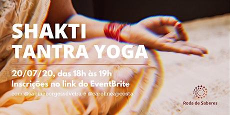 Aula de Shakti Tantra Yoga ingressos