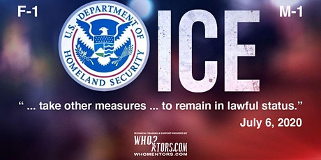 ICE Urges F-1 / M- 1 Nonimmigrant to Take Other Measures to Maintain Status tickets