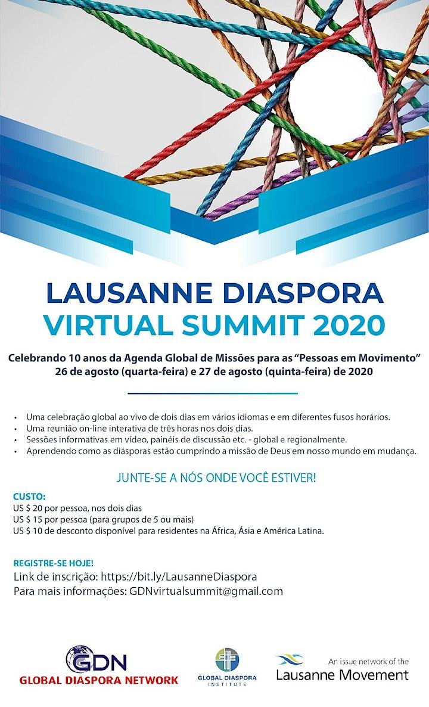 Lausanne Diaspora Virtual Summit 2020 image