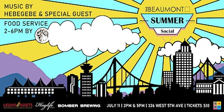 Summer Social Volume 2 w/ Hebegebe and Special Guest tickets