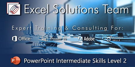 PowerPoint - Intermediate Skills - Level 2 (1-Day Webinar) tickets