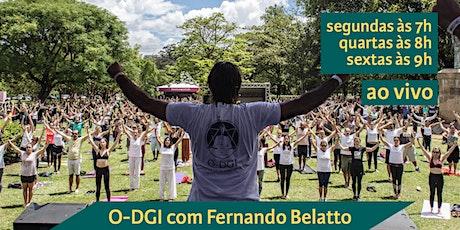 O-DGI com Fernando Belatto bilhetes