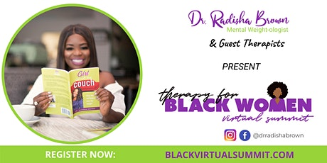 Therapy for Black Women Virtual Summit tickets