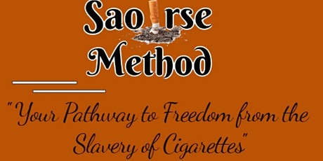 Saoirse Method - Give up Smoking tickets