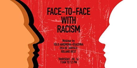 Face-to-face with Racism tickets