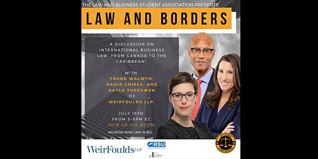 Law and Borders: International Business Law with WeirFoulds LLP tickets