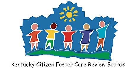 Kentucky Citizen Foster Care Review Board Virtual Regional Community Forums tickets