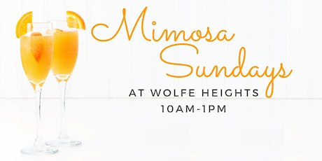 Mimosa Sunday at Wolfe Heights tickets
