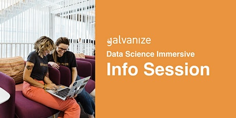 Galvanize Remote Part-time Data Science Information Session tickets
