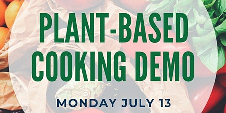 Plant Based Cooking Demo tickets