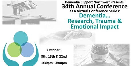 DSNW 34th Annual Conference:Dementia Research, Trauma And Emotional Impact tickets