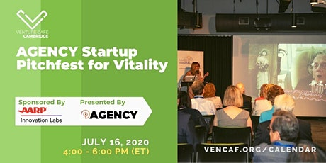 AGENCY Startup Pitchfest for Vitality tickets