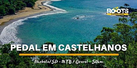 Pedal em CASTELHANOS (Ilhabela/SP) - 11/out (dom) ingressos