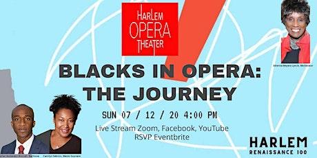 Harlem Opera Theater Blacks in Opera: The Journey tickets