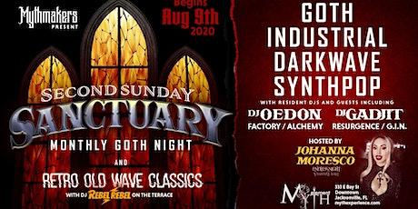 Second Sunday Sanctuary at Myth Nightclub | 08.09.20 tickets