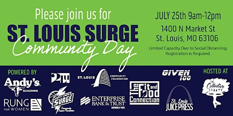 St. Louis Surge Community Day tickets