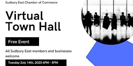 Sudbury East Chamber  Virtual Town Hall tickets