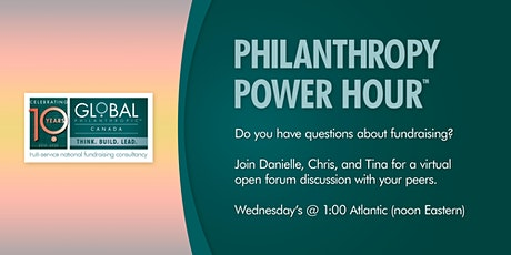 Philanthropy Power Hour™ hosted by Danielle, Tina, and Chris tickets