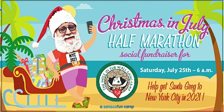 Christmas in July Half Marathon and 6.5 Mile Fundraising Social Run tickets