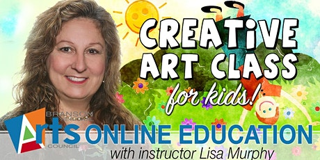 Creative Art Class For Kids! (ages 6-11) tickets