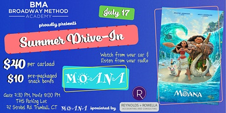 THS Thespian Society Summer Drive-In Movie Series: MOANA tickets