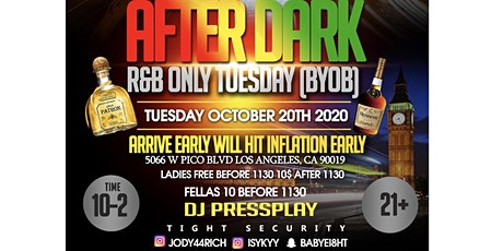 After Dark Tuesday (R&B Only) tickets