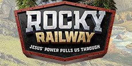 VBS 2020 Rocky Railway Derailed tickets