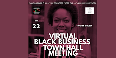 Virtual Black Business Town Hall tickets