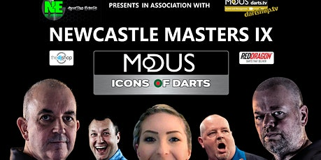 Newcastle Masters IX #IconsofDarts tickets